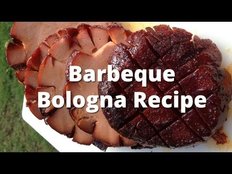 Barbeque Bologna Recipe - How To Smoke Bologna