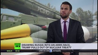 Trump withdraws from nuclear treaty... wait, did we see something like this already? - RUSSIATODAY