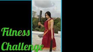Fitness Challenge Of Actress Adha Sharma | HumFitTohIndiaFit | Tollywood Updates - RAJSHRITELUGU