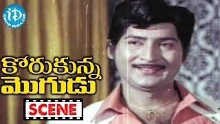 Korukunna Mogudu Movie Scenes - Lakshmi Mocking Nutan Prasad || Shoban Babu || Jayasudha - IDREAMMOVIES