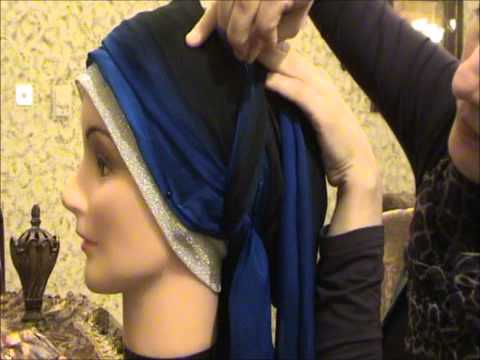 Hijab 2011-Tutorial # 4(part 2) (Wedding &amp; Party hijab)