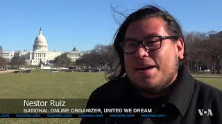DreamActTron and Dream Central: The Last Push for DACA in 2017 - VOAVIDEO