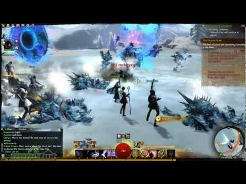 Guild Wars 2 Gameplay - Dynamic Events and The Frozen Maw!