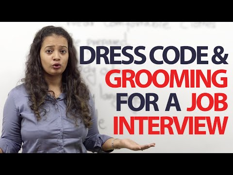 Dress code & Grooming tips for a job Interview - Free Spoken English Lessons
