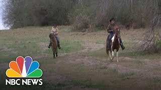 Roy Moore And His Wife Ride Horseback To Vote In Alabama Senate Race | NBC News - NBCNEWS