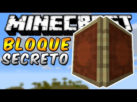 Minecraft - BLOQUE SECRETO CON EL MARCO DE ÍTEMS - ESPAÑOL TUTORIAL