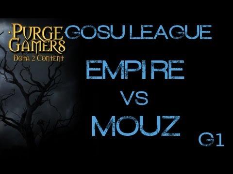 Empire vs mouz g1 GosuLeague