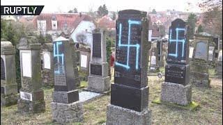 At least 80 Jewish graves vandalized in France - RUSSIATODAY