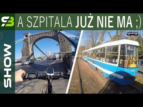 Daniel Dziemieszonek ścigał się na e-biku Overfly z tramwajem