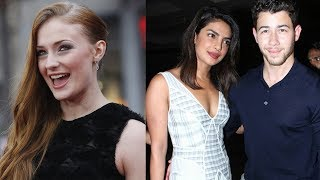 Game Of Thrones Star, Sophie Turner, Is Gushing Over Priyanka Chopra!! | Hollywire - HOLLYWIRETV