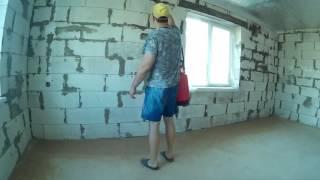 Грунтуем стены и пол  Подготовка к оклейке стен гипсокартоном
