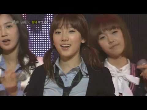 HD SNSD - Way To Go [TaeYeon] Multi Angle ver. The M 11of14 Mar27.2009 GIRLS' GENERATION 720p