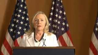 We are Friends, We are Allies - U.S. Secretary Clinton's Visit to Israel July 2012