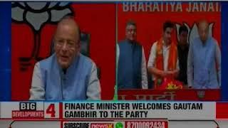 Lok Sabha Elections 2019: Gautam Gambhir joins BJP, influenced by PM Narendra Modi's vision - NEWSXLIVE