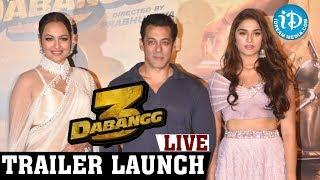 Dabangg 3 Movie Telugu Trailer Launch Full Event LIVE || Salman Khan || Prabhudev|| iDream Movies - IDREAMMOVIES
