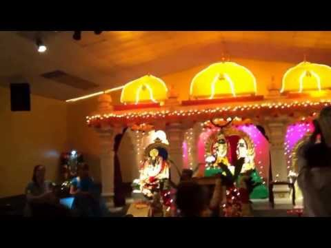 Sri Krishna Janmashtami 2013 at Baton Rouge Datta Temple, USA