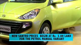 All-new Hyundai Santro launched in India - NEWSXLIVE