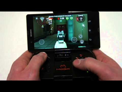 Xperia Z with MOGA Gaming - First Look!