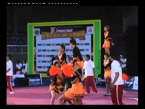TIGERS (SMP 161 Jakarta) - CHAMPION Precise NCC 2011 Kategori Cheerleading SMP