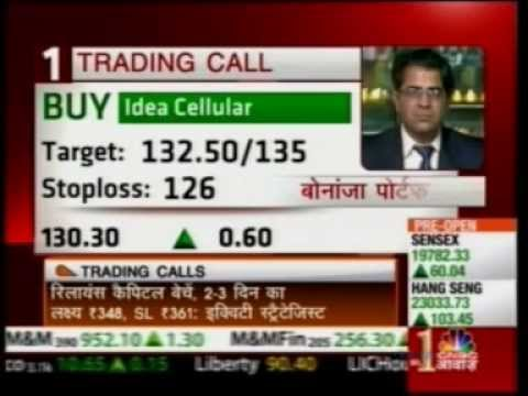 CNBC Awaaz Pehla Sauda 15 May 2013 Puneet Kinra  Bonanza Portfolio View On Idea Ce