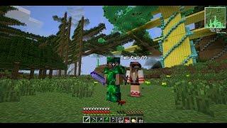 Майнкрафт с Девушкой - Мы нашли АЛМАЗНОЕ ДЕРЕВО В Minecraft