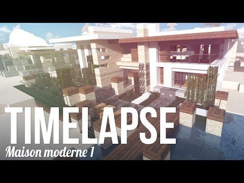 Let's Build en Timelapse ! Maison moderne #1 - R3li3nt