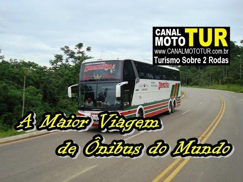 A Maior viagem de Ônibus do mundo, SP ao Peru.