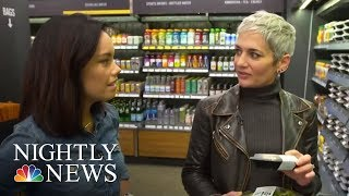 Inside Amazon's High-Tech Grocery Store | NBC Nightly News - NBCNEWS