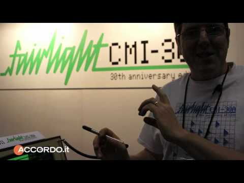 Namm Show 2011 - Fairlight New