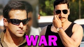 Akshay Kumar wants to compete with Salman Khan at the Box Office | Bollywood News