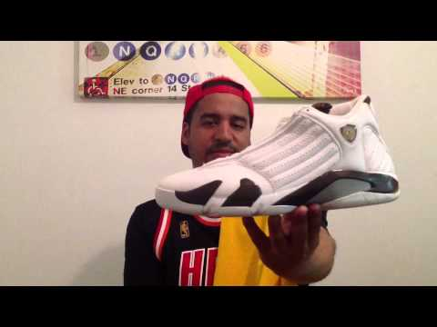 Pointforwards Jersey Vlog 5/1/2013 Jordan 14 And Magic Johnson Review
