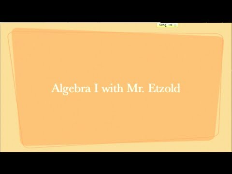 Algebra I - Multiplying & Dividing Rational Expressions