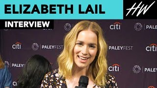 Elizabeth Lail Reveals Penn Badgley And Her's Instant Chemistry | Hollywire - HOLLYWIRETV