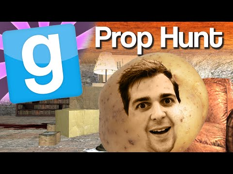 GMod Prop Hunt #3 - Potato League