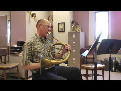 Playing Natural Horn Today -- Horn Notes Edition