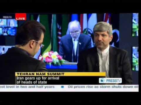 Ramin Mehmanparast, Iran's Foreign Ministry Spokesman Interview on Tehran NAM Summit