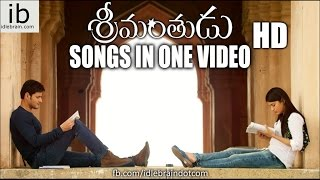 Srimanthudu songs in One video - idlebrain.com - IDLEBRAINLIVE