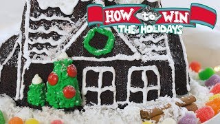 Gingerbread House Cake | Food Network - FOODNETWORKTV