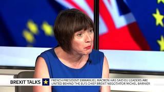 Frances O'Grady and Carolyn Fairbairn: Urgent progress needed on Brexit negotiations - SKYNEWS