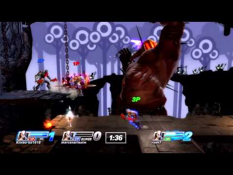 Playstation All Stars Battle Royale: Beta Gameplay Kratos 2