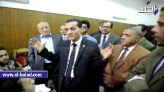 بالفيديو والصور.. رئيس جامعة الأزهر يتفقد كلية اللغات والترجمة