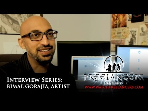 Freelancers Interview - Bimal Gorajia illustrator graphic designer