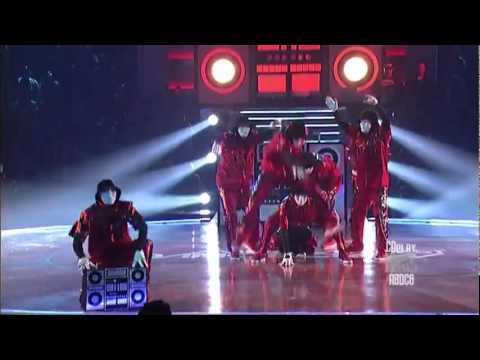 Jabawockeez - Devastating Stereo - ABDC6 Finale - in HD before 2011 MTV Movie Awards