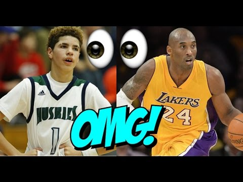 Lonzo Ball, Lamelo Ball And Lavar Ball Meets KOBE BRYANT!