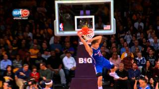 Blake Griffin's Big Alley Oop From Jamal Crawford