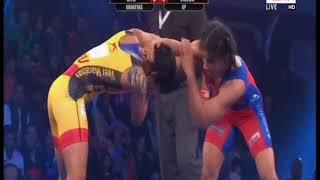 PWL 3 Day 11: Ritu Phogat VS Vinesh Phogat  at Pro Wrestling League 2018   Full Match - NEWSXLIVE