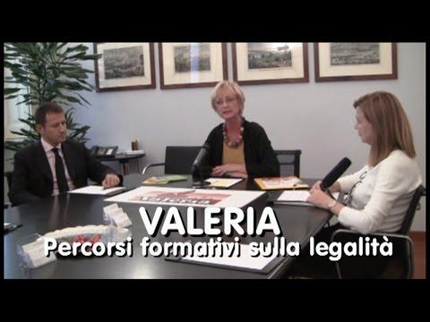 Valeria, percorsi formativi sulla legalità
