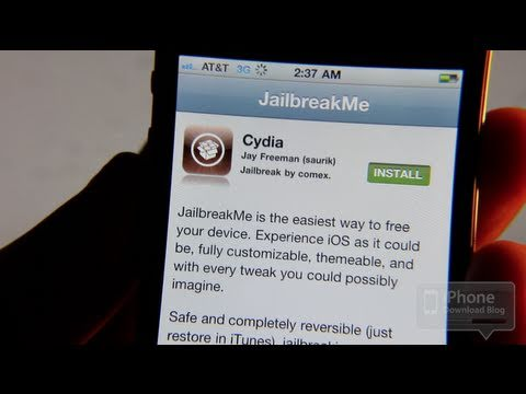 How to Jailbreak the iPhone Using JailbreakMe - Tutorial