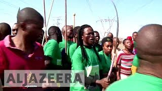 South Africa commemorates Marikana miners killed by police - ALJAZEERAENGLISH