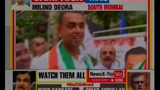 Milind Deora campaign trail from south mumbai constituency: lok sabha election 2019 - NEWSXLIVE